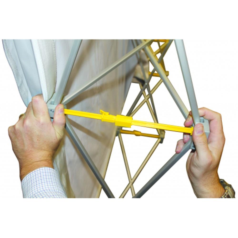 Stand parapluie droit 3x3 tissu