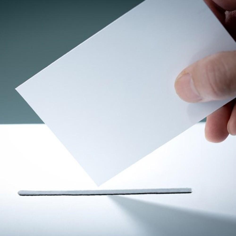 Bulletin de vote électoral