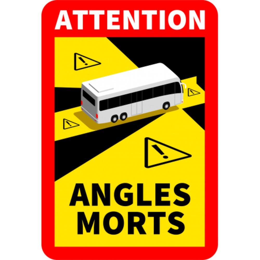 Visuel angle mort bus