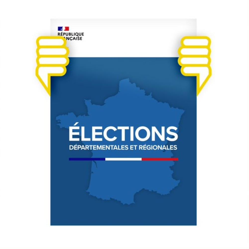 Affiche électorale au format
