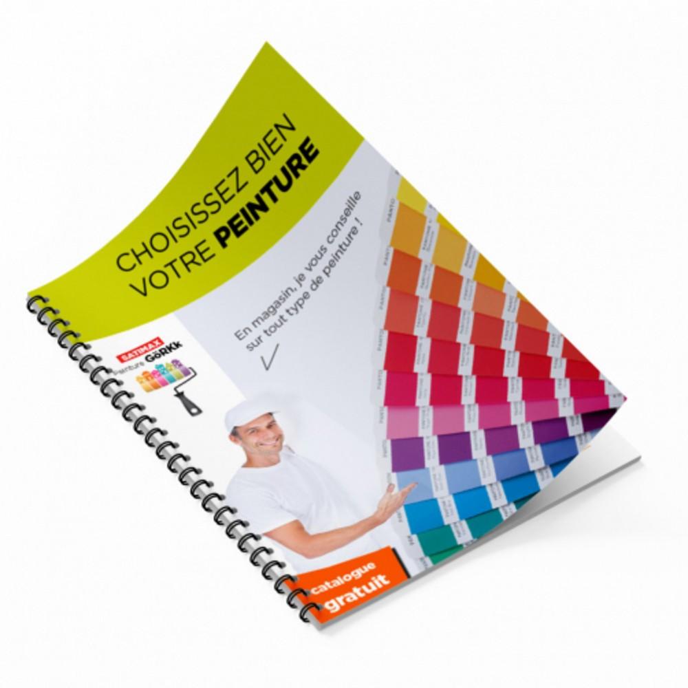Brochure à spirale