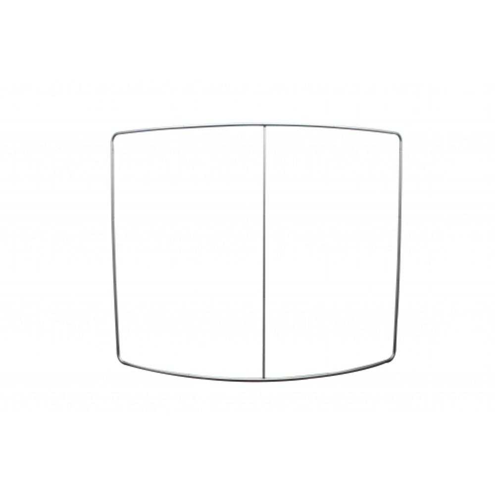 Mur d'image courbe horizontale 2,4 m